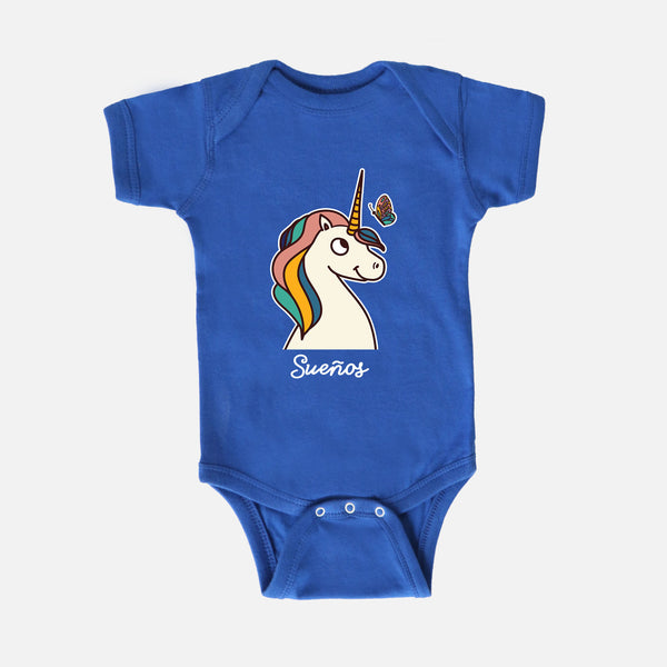 Unicorn Baby Bodysuit - Fiesta Kits USA
