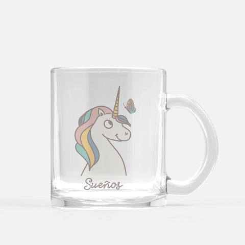 Unicorn Glass Mug - Fiesta Kits USA
