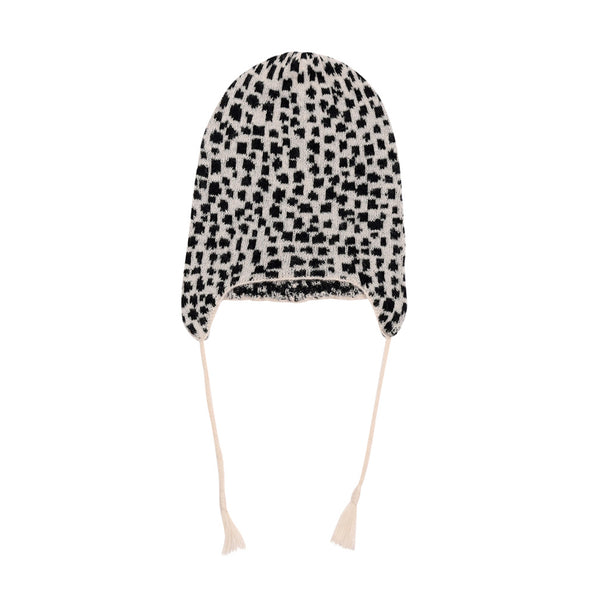 SNOW LEOPARD / KNIT HAT