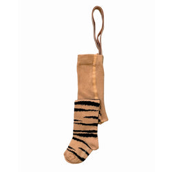 BROWN TIGER / ELASTIC TIGHTS