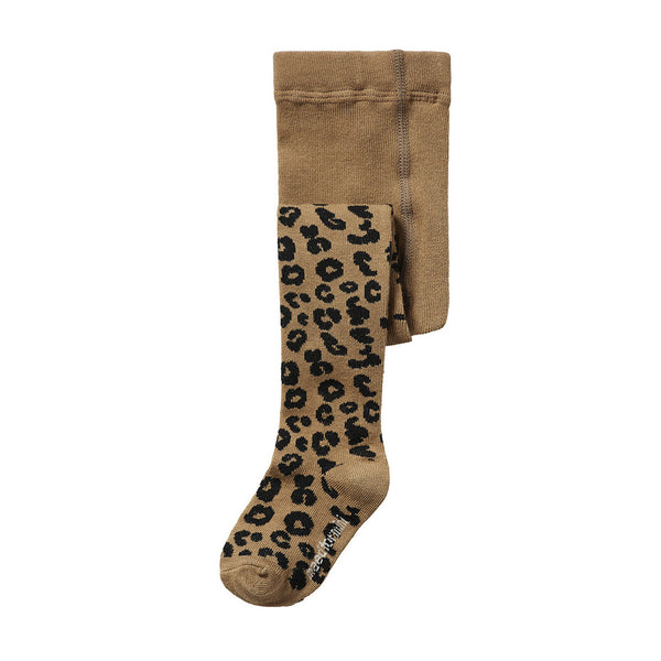 BROWN LEOPARD / TIGHTS