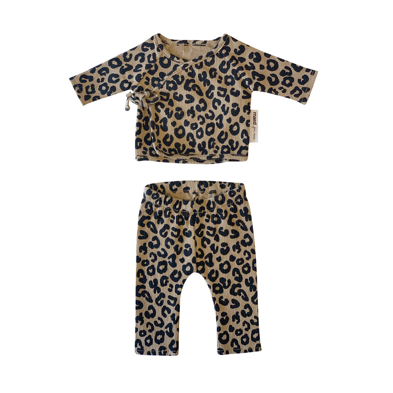 BROWN LEOPARD / DOLL CLOTHING