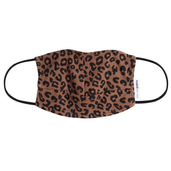 CHOCOLATE LEOPARD / FACE MASK M (ADULTS)