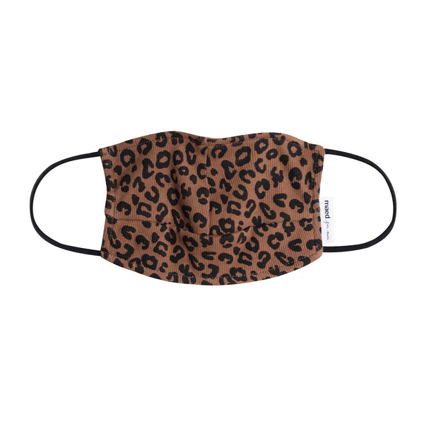 CHOCOLATE LEOPARD / FACE MASK S (KIDS 10+/ADULTS)