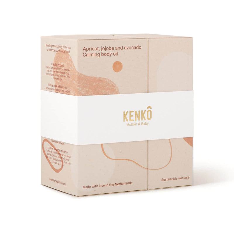 KENKO / CALMING BODY OIL MOTHER & BABY SET 200ML/100ML
