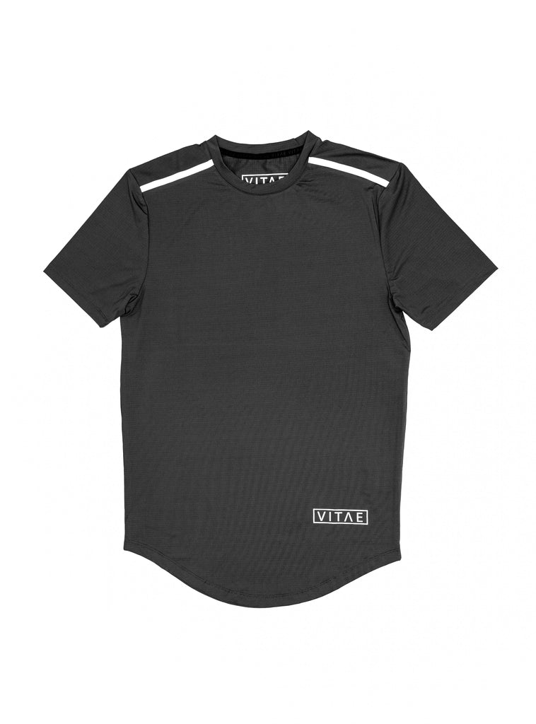 Performance Black Grey T-shirt