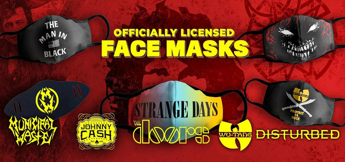 Band face masks (and other coverings)!