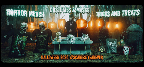 Your Guide to Halloween 2020 With Rockabilia