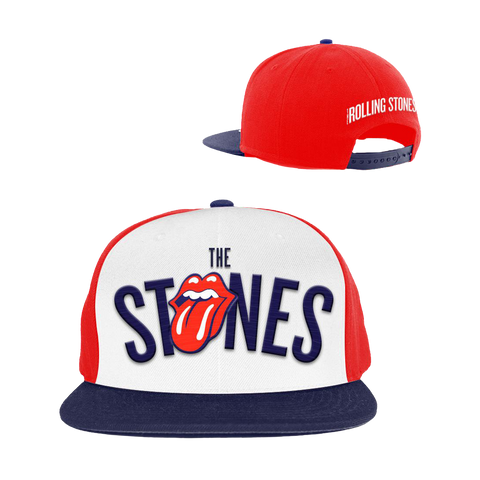 The Rolling Stones Tongue Red Cap