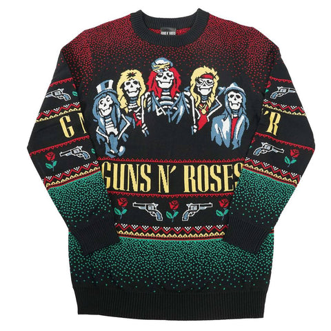 Guns N Roses Gnr Holiday Sweater Sweatshirt