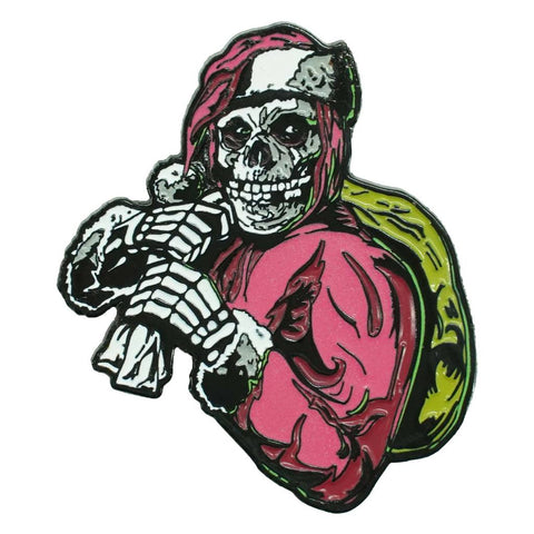 Misfits Holiday Fiend Enamel Pin Pewter Pin Badge