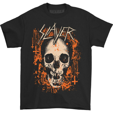 Slayer Scratched Flag 2018 Tour Tee T-shirt