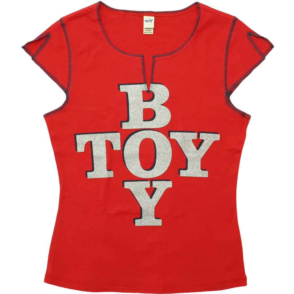 Boy Toy Sleeveless Junior Top