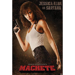 Jessica Alba As Sartana Domestic Poster