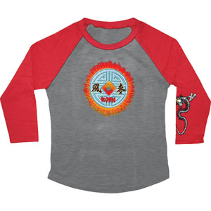 Medallion Raglan Junior Top