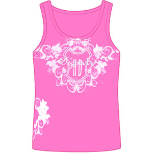 Floral Crest Womens Tank