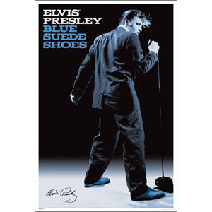 Blue Suede Shoes Domestic Poster