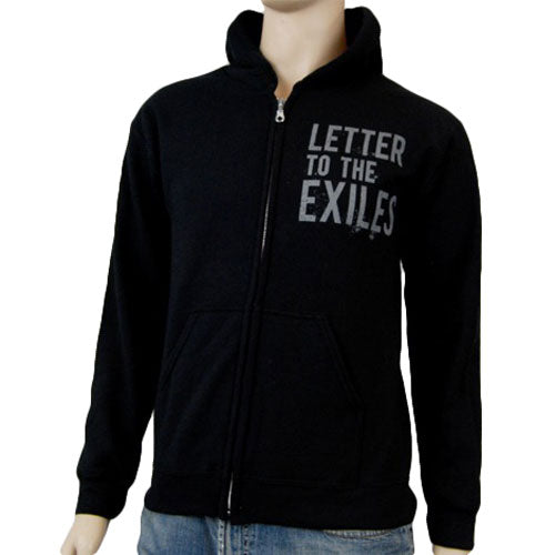 Letter To The Exiles Threnody Zippered Hooded Sweatshirt