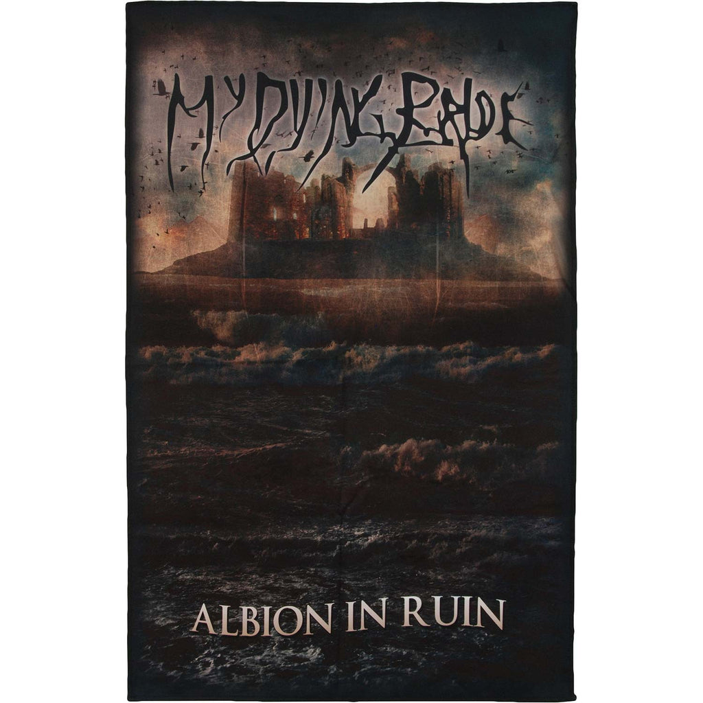 Albion In Ruin Poster Flag