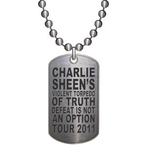 Winning Tour Dog Tag Necklace