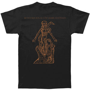 Redemption At The Puritans Hand Black T-shirt