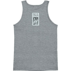 Scratchy Text Mens Tank