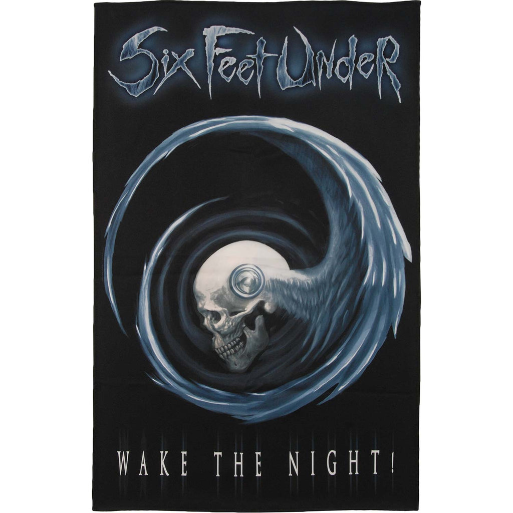 Wake The Night Poster Flag