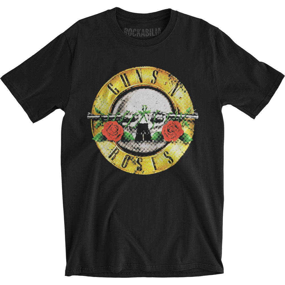 Guns N Roses Distressed Bullet Slim Fit T-shirt