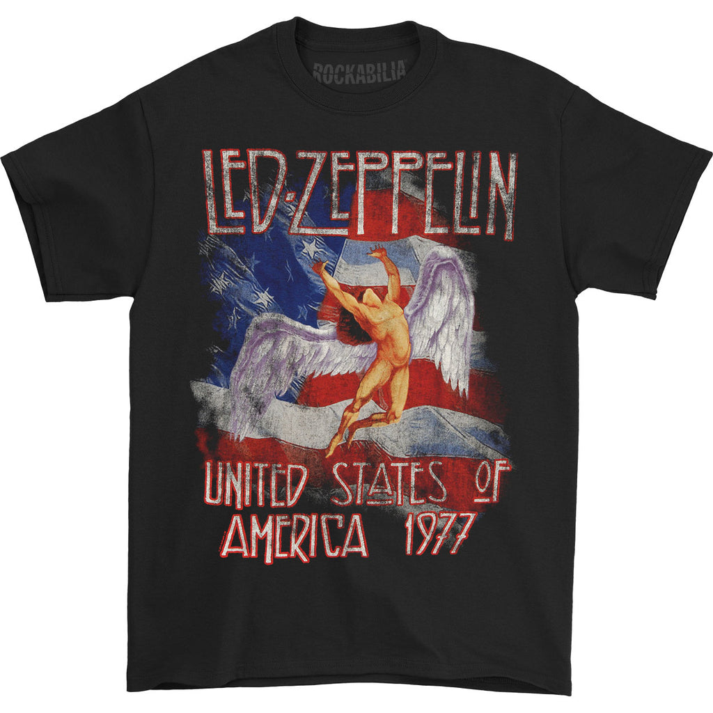 USA 77 with Flag T-shirt