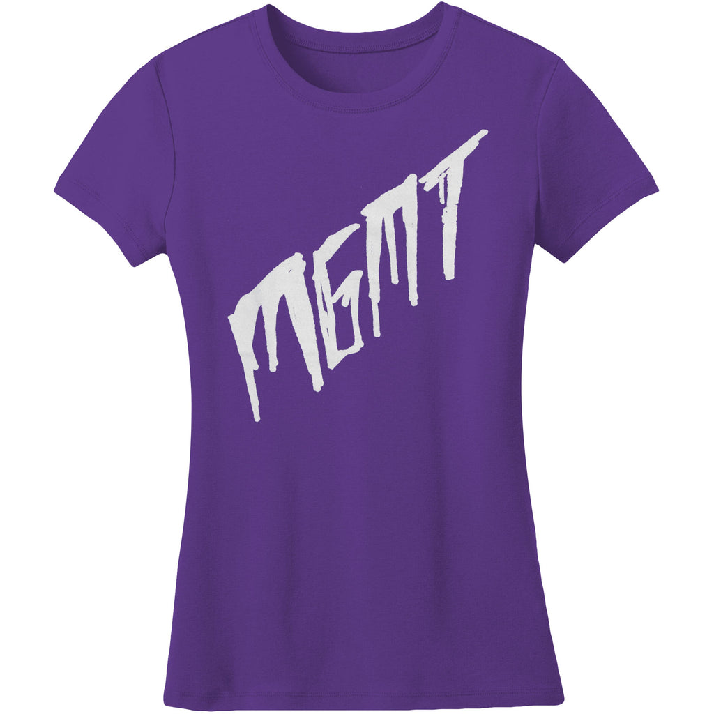 Scratch On Purple Soft Junior Top