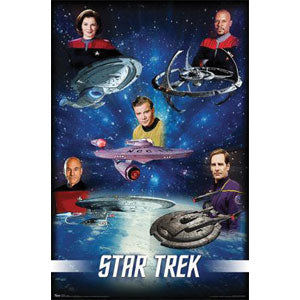 Captains Domestic Poster