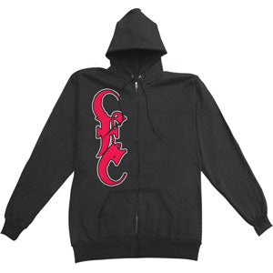 Slave To The Game Zippered Hooded Sweatshirt
