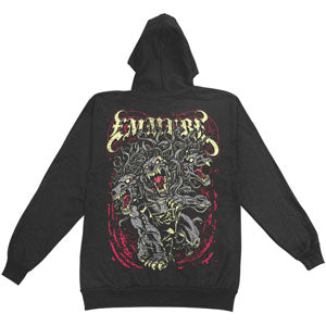 Beast Zippered Hooded Sweatshirt