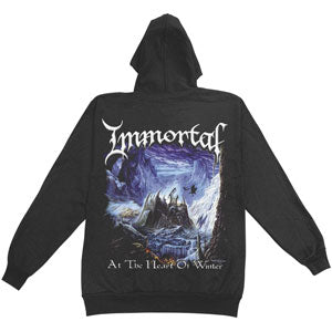 At The Heart Of Winter Zippered Hooded Sweatshirt