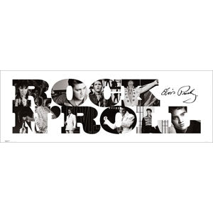 Rock N' Roll Slim Print Poster