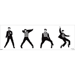 Jailhouse Rock Sequence Slim Print Poster