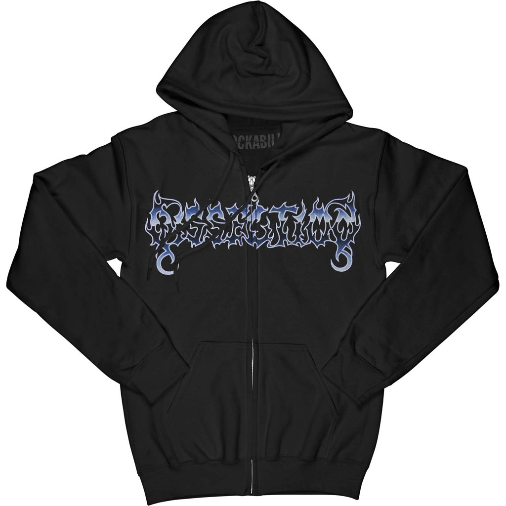 Somberlain Zippered Hooded Sweatshirt