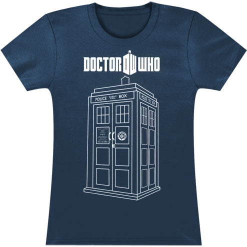 Linear Tardis Junior Top