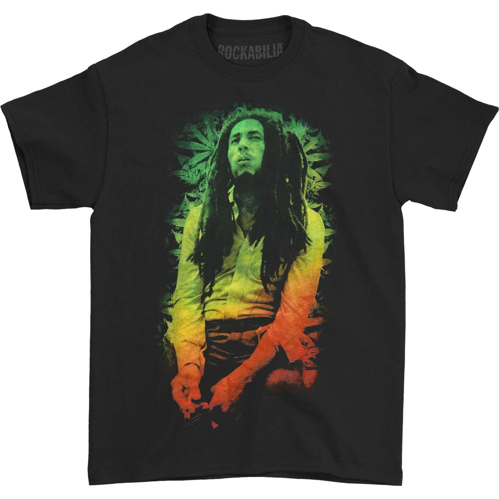 Rasta Leaves Slim Fit T-shirt