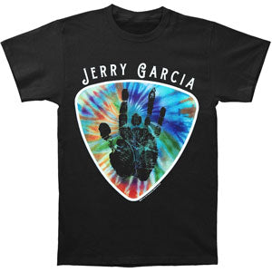 Tie-Dye Guitar Pic Slim Fit T-shirt