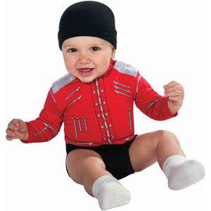 Beat It Red Infant Michael Jackson Costume Costume