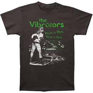 Whips 'N' Furs Slim Fit T-shirt