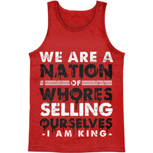 Nation Of Whores Mens Tank