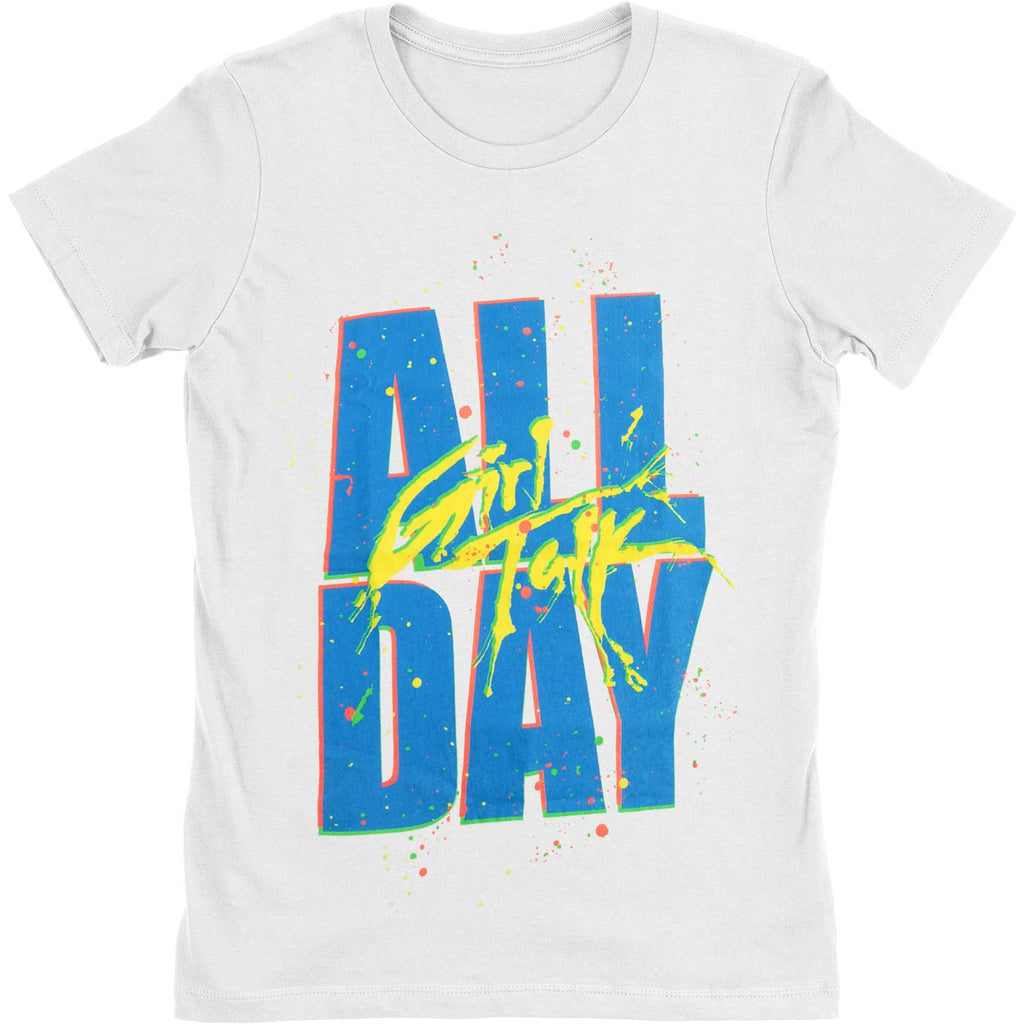 Girl's White All Day Junior Top