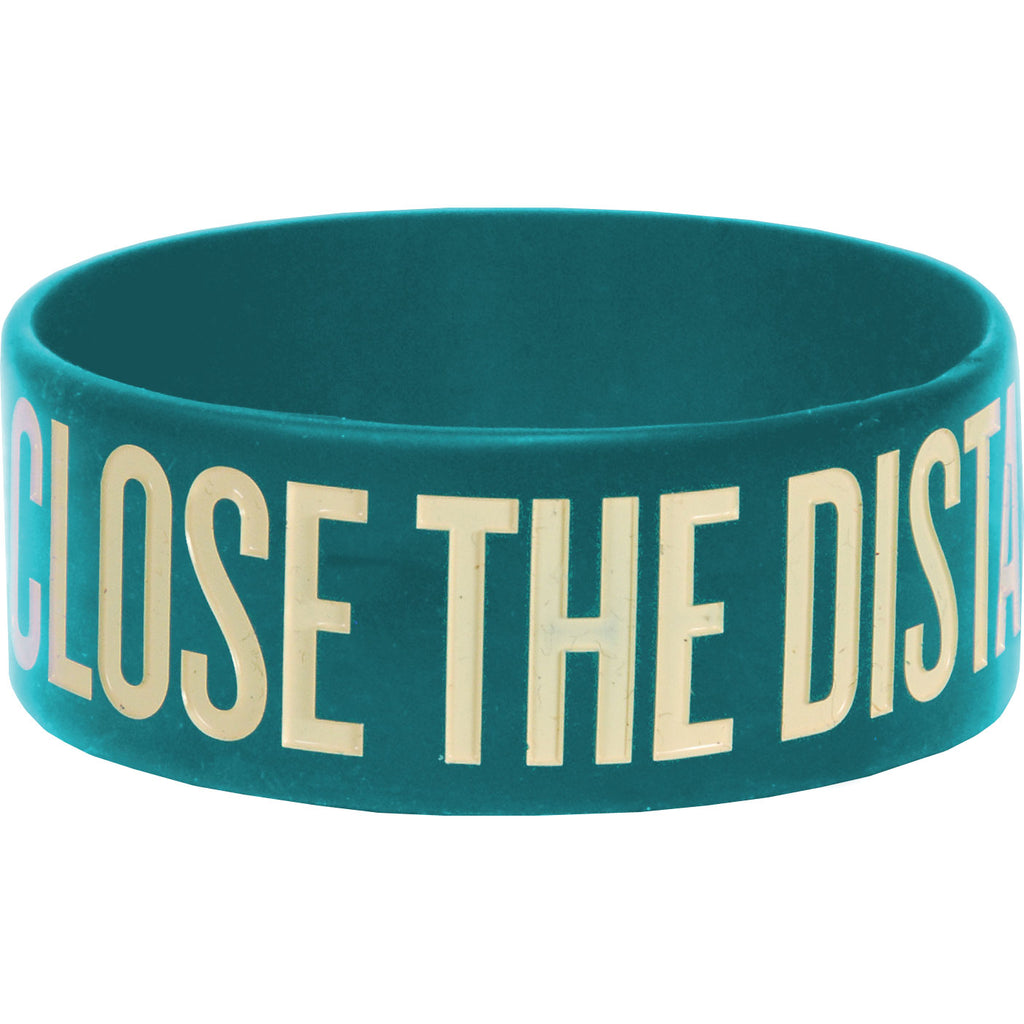 Close The Distance Rubber Bracelet