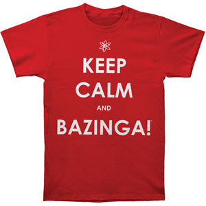 Keep Calm And Bazinga! T-shirt
