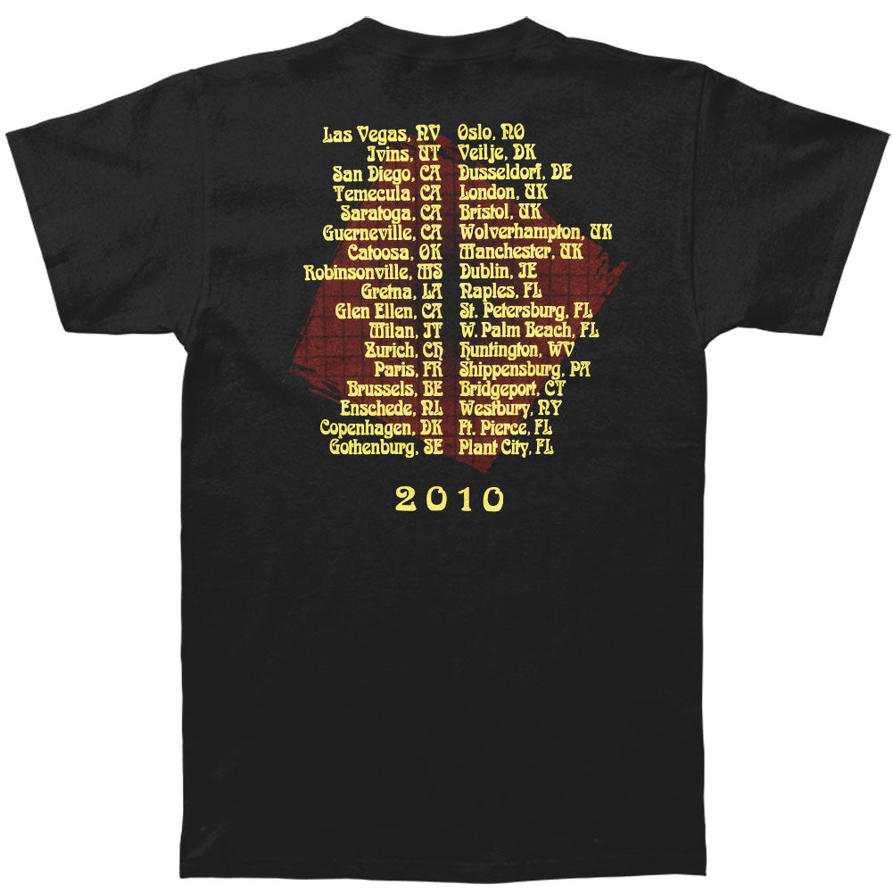 World Gone Crazy 2011 Tour T-shirt