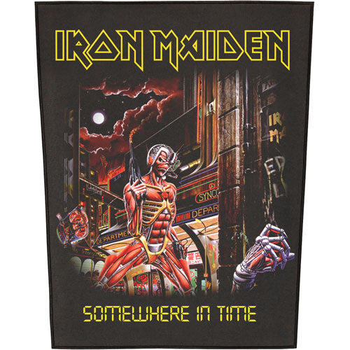 Somewhere In Time Back Patch