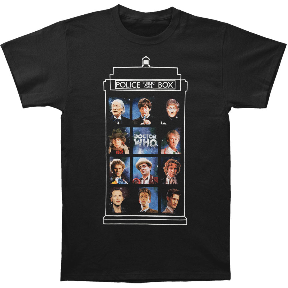50 Years 11 Doctors T-shirt