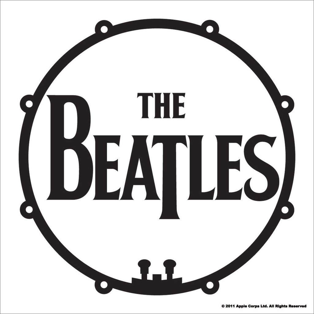 The Beatles Drum Coaster
